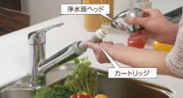 トラブラン通信販売事業部 キッチン水栓タカギカートリッジ