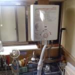 ハーマン瞬間湯沸かし器取替えトラブラン