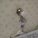 TOTO 洗濯用水栓金具 壁給水タイプ,緊急止水弁付横水栓ピタットくん」露出タイプ [TW11R]トラブラン
