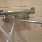 TOTO 浴室シャワー水栓金具 壁付タイプ/メタルジョイシリーズ/シングルレバー混合水栓/一般地 [TMJ40C3S]