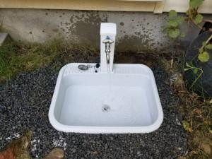 水栓柱 水栓柱パン 万能ホーム水栓 屋外 交換