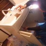 ノーリツ シャンピーヌ 交換 工事 洗面台