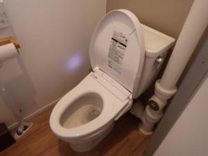 施工後 トイレ ウォシュレット 通販 工事付プラン