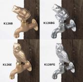 KVK/水栓・散水/ガーデニング水栓 /カエル/フクロウ[K126]